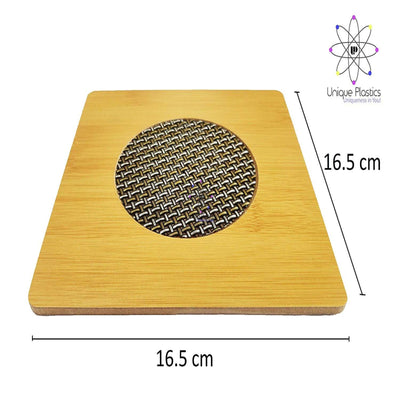 Natural Bamboo Heat Pad (16.5cm x16.5cm) - CRODOR Wholesale