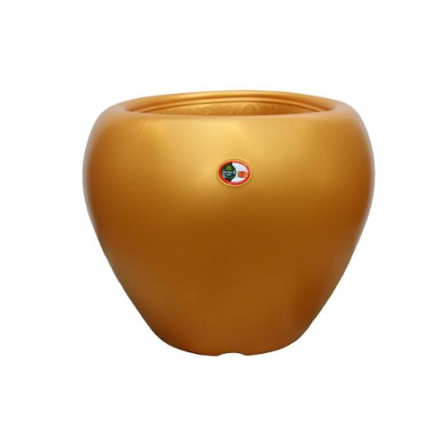 Apple 14 inches gold flower pot online