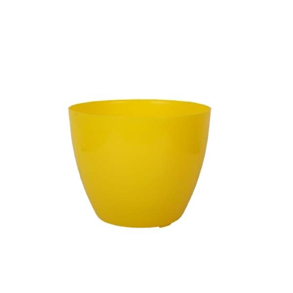 Cool 6 Inches (Yellow) Flower Pot (96 Pieces)