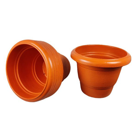 Deluxe 11 new terracotta flower pot