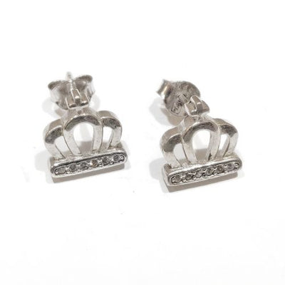 Blint Crown Shaped Silver Tops for Women & Girls (Pure 925 Sterling Silver) (1.700 gms)
