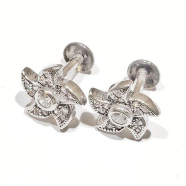 Blint Flower Shaped Silver Tops For Women & Girls (Pure 925 Sterling Silver) (1.930 gms)