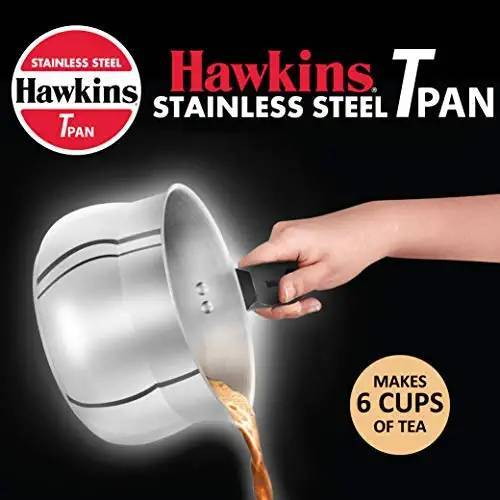Hawkins Stainless Steel T Pan SST15 Without Lid