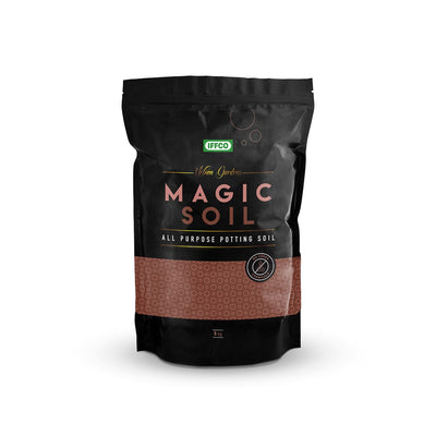 IFFCO Magic Soil - 5 Kg (All Purpose Potting Soil) + Plastic Poly Grow bags x 25