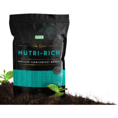 IFFCO Nutri-Rich -25 Kg (Seaweed Fortified Vermicompost)