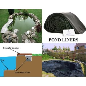 Plastic Pond Liner sheet (300 to 500 Micron)