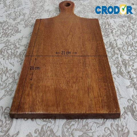 Polished Wooden Chopping Board (40cm x21cm)