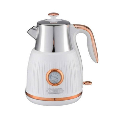 Hafele Queen White Rose Gold Electric Kettle