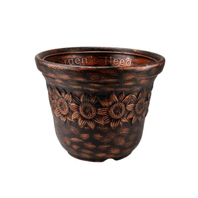 Sunny (20 Inches, Antique) Flower Pot (3 Pieces)