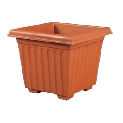 Super (12 Inches, Terracotta) Flower Pot (12 Pieces)