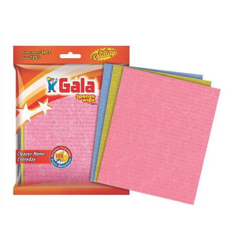 Gala Sponge Wipe (144 Pieces)