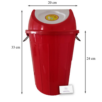 Swing Dustbin (80 litre) (6 Piece)