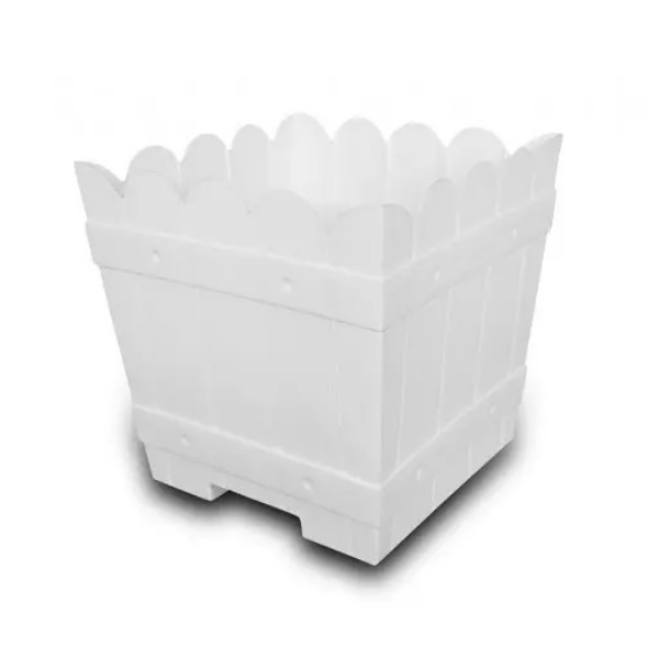 "Divine Pot-14"" White (24 pieces)"
