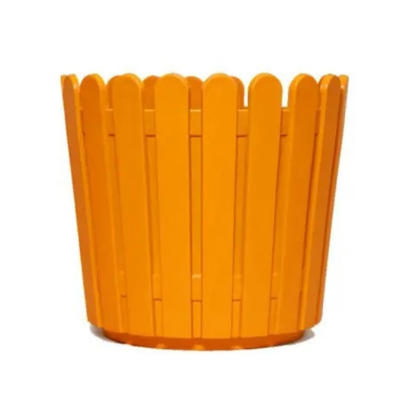 "Fence Pot-11"" Orange (18 pieces)"