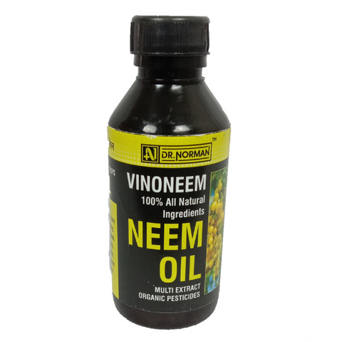 Vino Neem (Neem Oil) - 100ml + Plastic Poly Grow Bags x 25