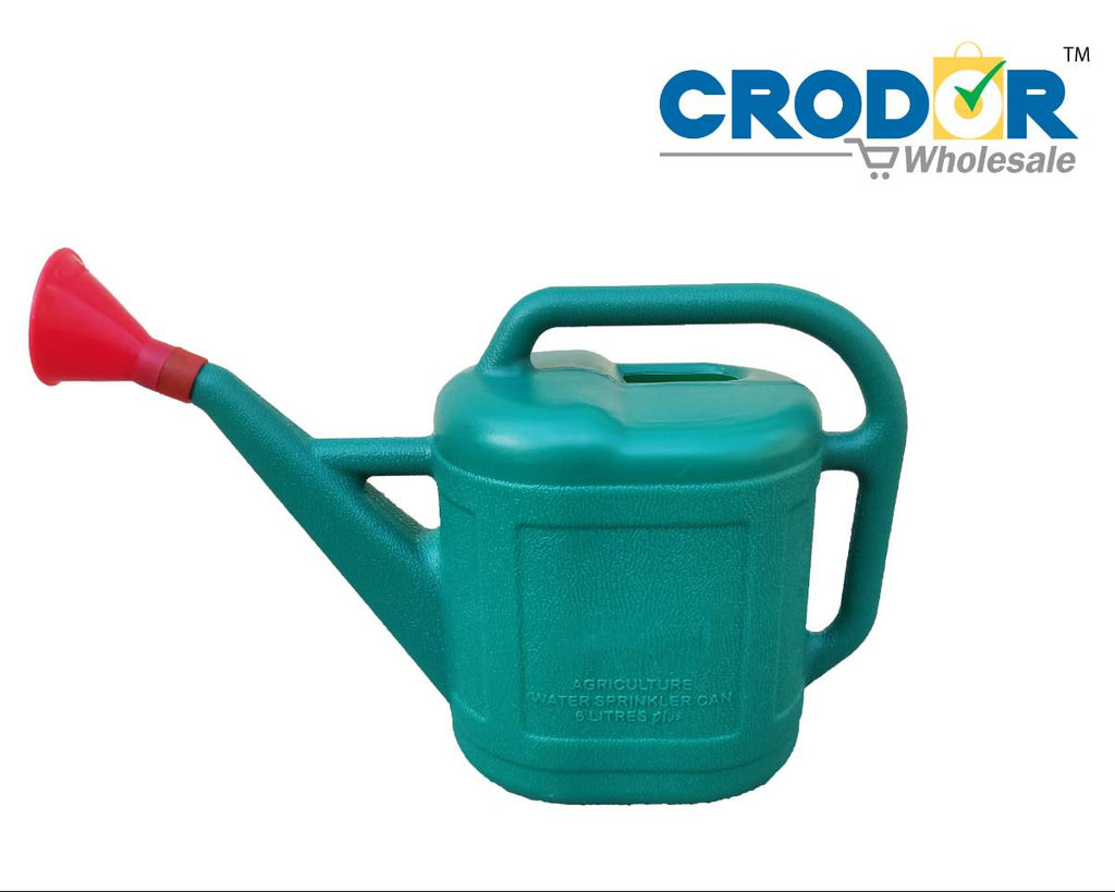 Plastic Water Can (Green) - CRODOR Wholesale