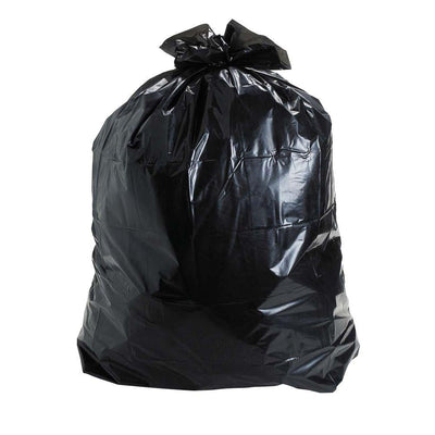 Plastic Garbage Bag (Black) - CRODOR Wholesale