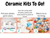 Ceramic Banks Kits To Go