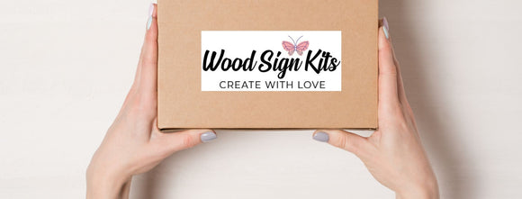 Wood Sign Club - 3 Months - $38/mo + Free Shipping