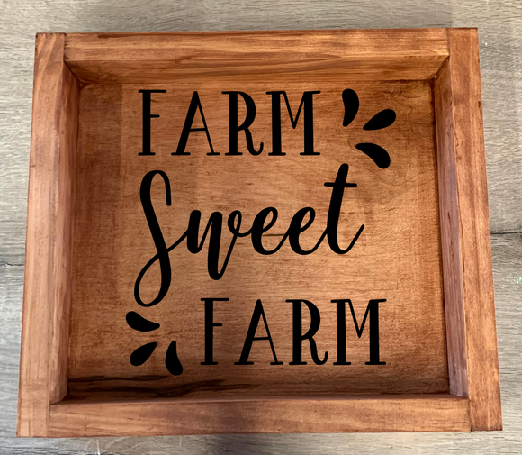 Framed Wood Pallet Kit- Farmhouse Designs