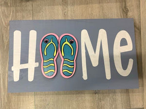 In Studio-Youth Home Wood Sign with Interchangeable pieces