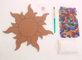 Mosaic Sun Plaque Kit