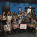Wood Pallet Paint Event-Midway Jewish Center Moms Night Out