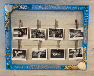 In Studio-Youth Seashell Photo Frame Project