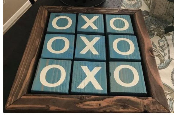 In Studio-Youth Wood Tic Tac Toe Set