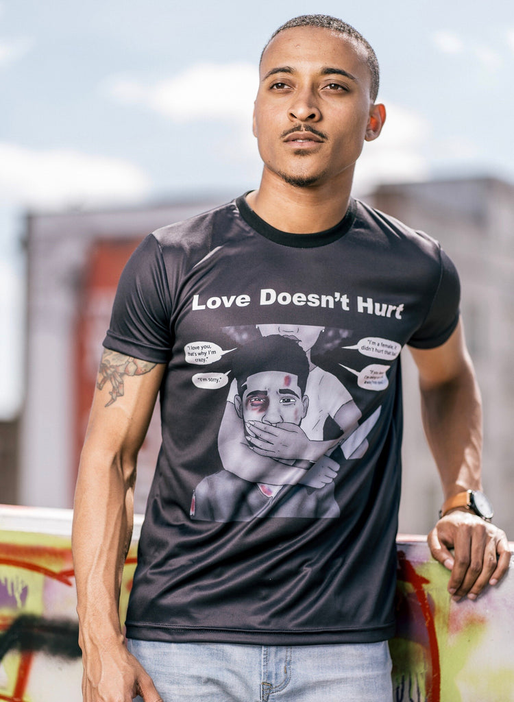 """Love Doesnt Hurt"" T-Shirt"