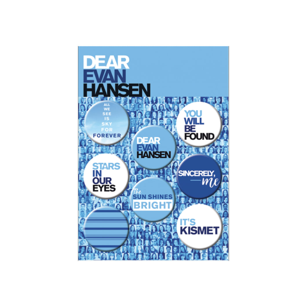 DEAR EVAN HANSEN 8-Button Set