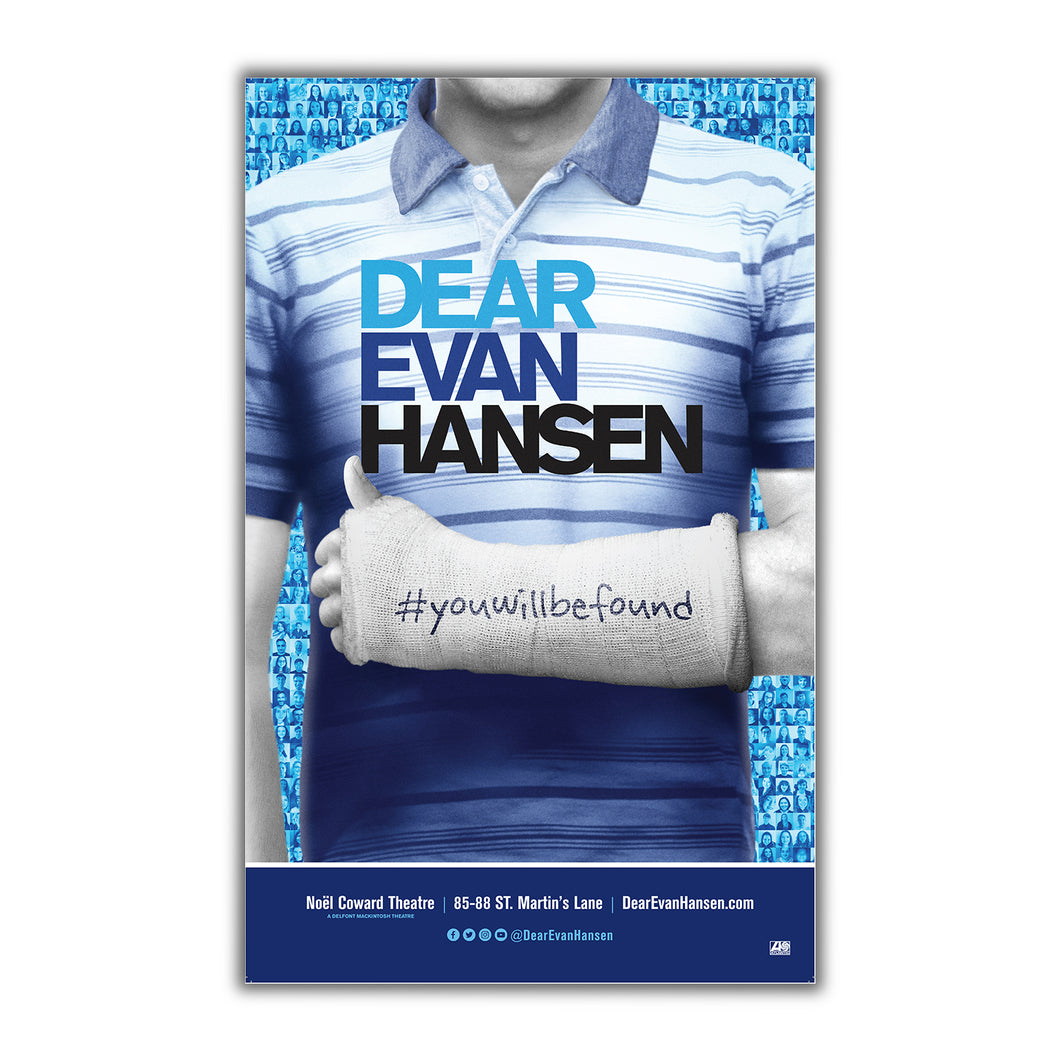 DEAR EVAN HANSEN Window Card