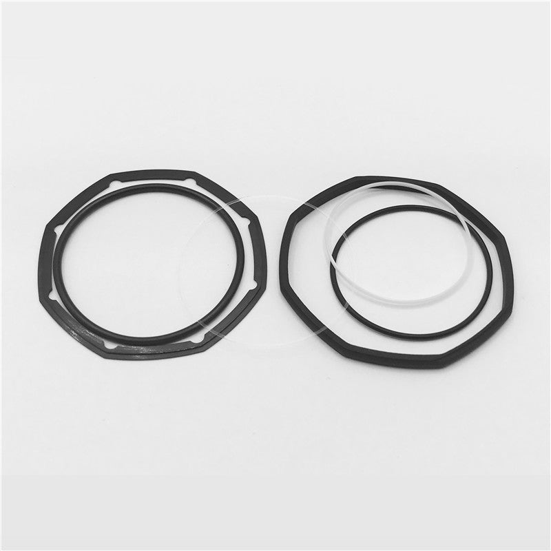 a full set rubber watch gasket seal washers waterproof ring for Audemars Piguet AP Royal Oak Offshore ROO 264700 original watch - watch2parts