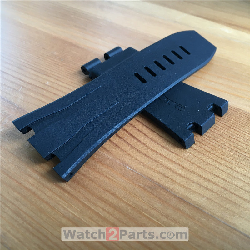 rubber watchband for Audemars Piguet Royal Oak Offshore 44mm automatic watch