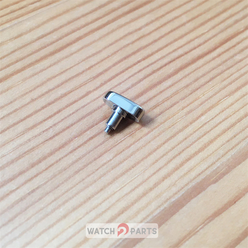 steel button pusher for Tissot T-Classic T035.617 automatic watch