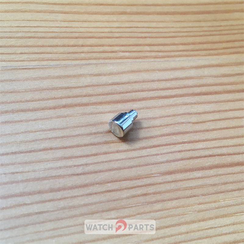 steel waterproof pusher button for Tissot T-Sport 39.8mm T17 automatic watch