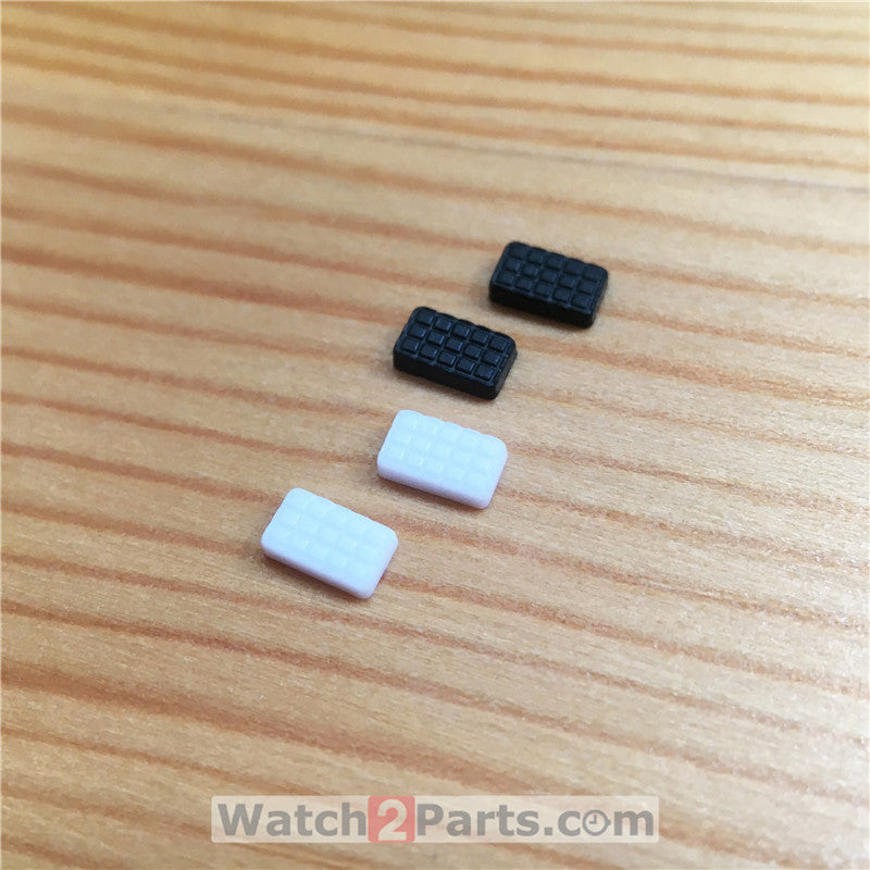 watch pusher rubber pearls patch for Hublot Big Bang 44mm chronograph watch push button - watch2parts