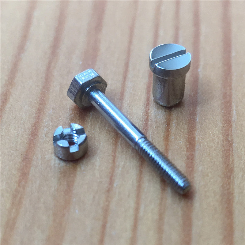 watch bezels screw set for Audemars Piguet AP Royal Oak Offshore 44mm panda original watch bezel insert case back screw 26400 26568 - watch2parts