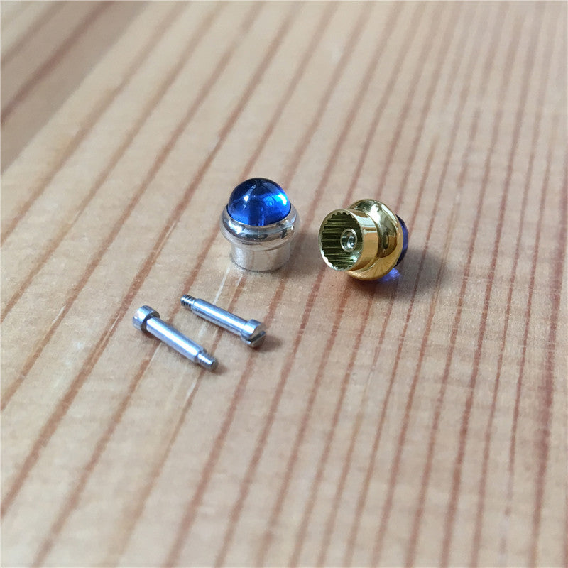 sapphire crystal screw pusher /push button for Cartier Pasha chronograph watch - watch2parts