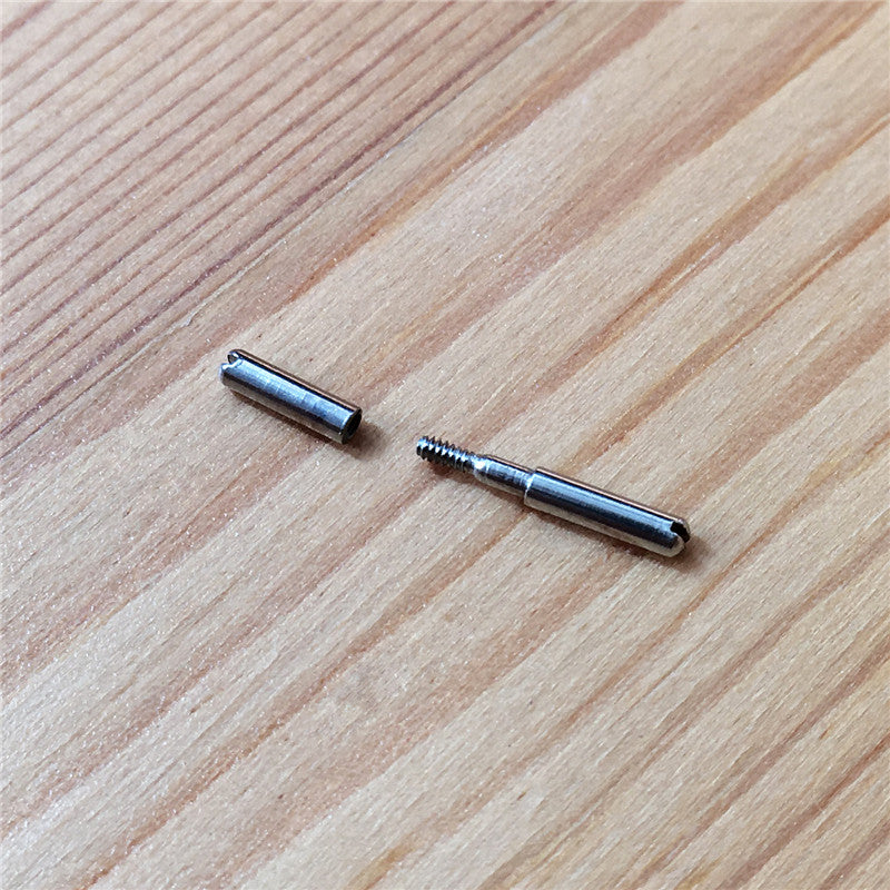 13.5mm screwtube for Breguet Reine De Naples watch leather band (for 16mm buckle) - watch2parts