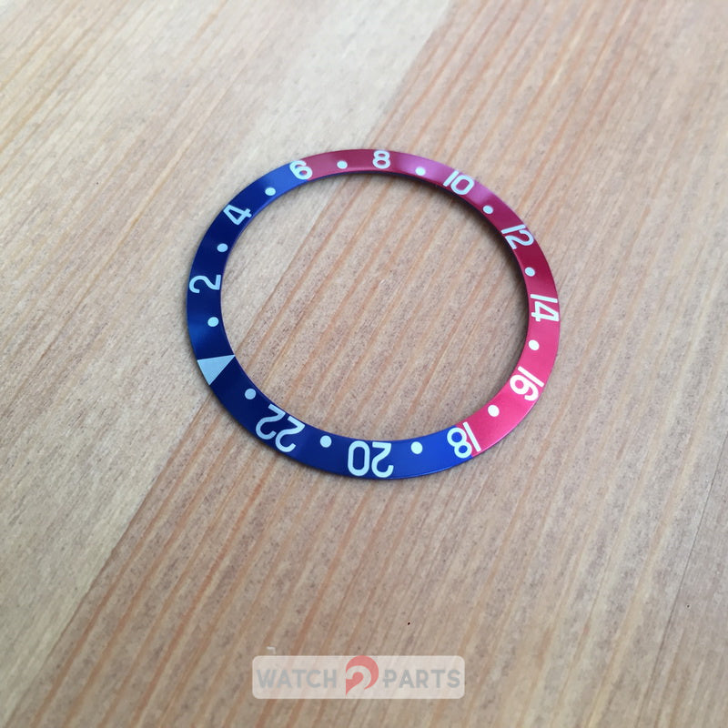 pepsi coke watch bezel Inserts for Rolex Oyster Perpetual Date GMT-Master watch replacement parts - watch2parts