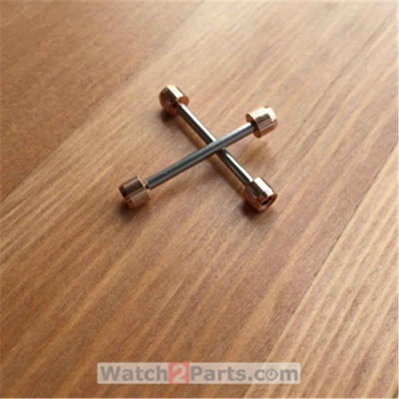 inner hexagon watch screw tube rod for Tissot T-race T-sport T048 motoGP watch lug link kit parts