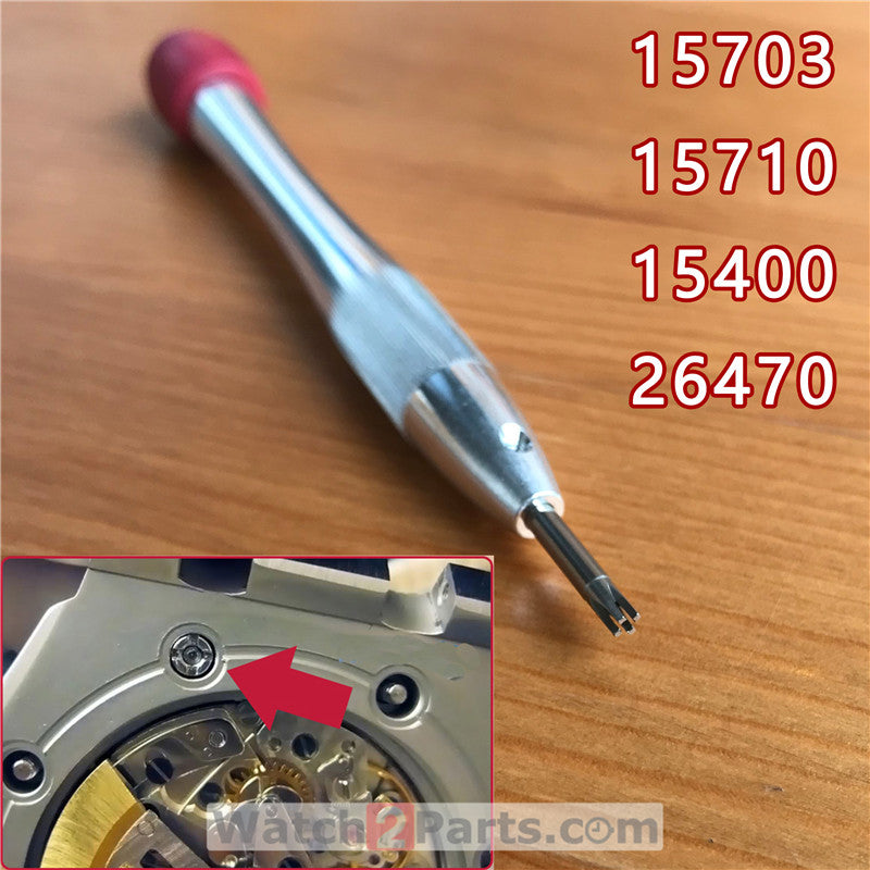 4 prongs watch machine screwdriver for AP Audemars Piguet Royal Oak Offshore 15400/15703/15710/26470/26400 watch parts tools - watch2parts