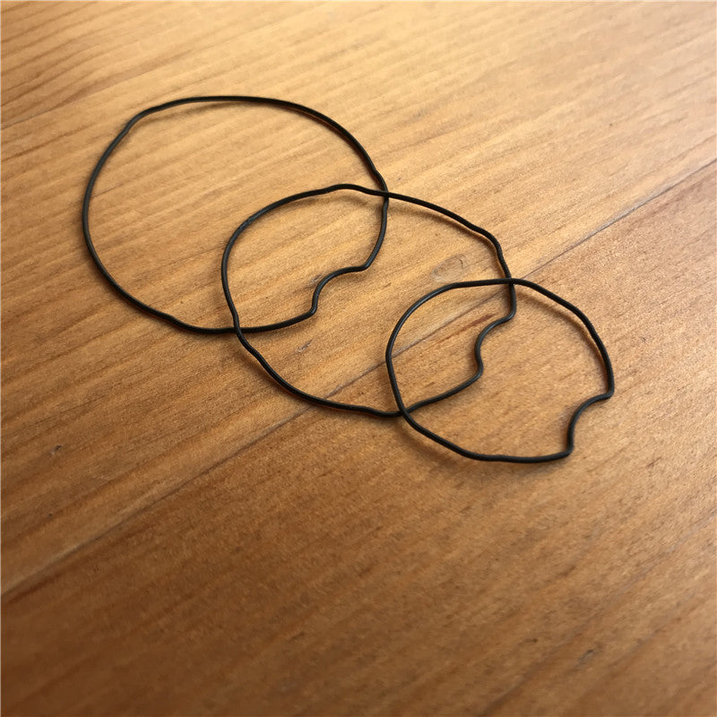 rubber watch waterproof ring Gasket Seal Washers for Cartier Ballon Bleu watch parts - watch2parts
