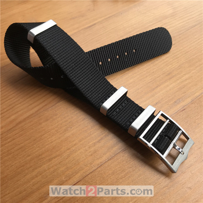 nylon watch band for Tudor Black Bay 43mm automatic mechanical watch - watch2parts