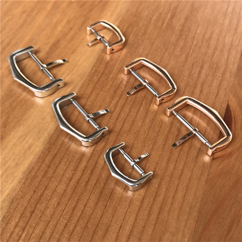 12mm 16mm 18mm steel pin buckle/clasp for Cartier Ronde Ballon Bleu tank watch - watch2parts