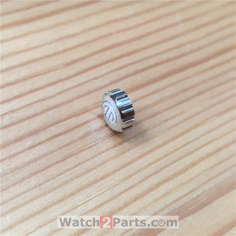 steel waterproof crown for Rado Diamaster automatic watch R1412 - watch2parts