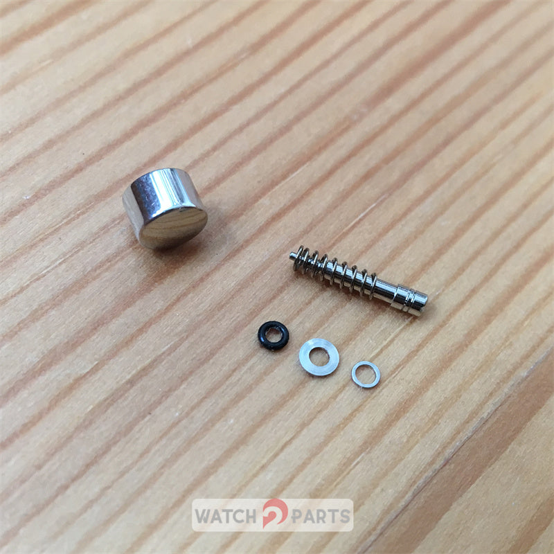 steel waterproof pusher button for Tag Heuer Grand Carrera CAV511 43mm watch - watch2parts