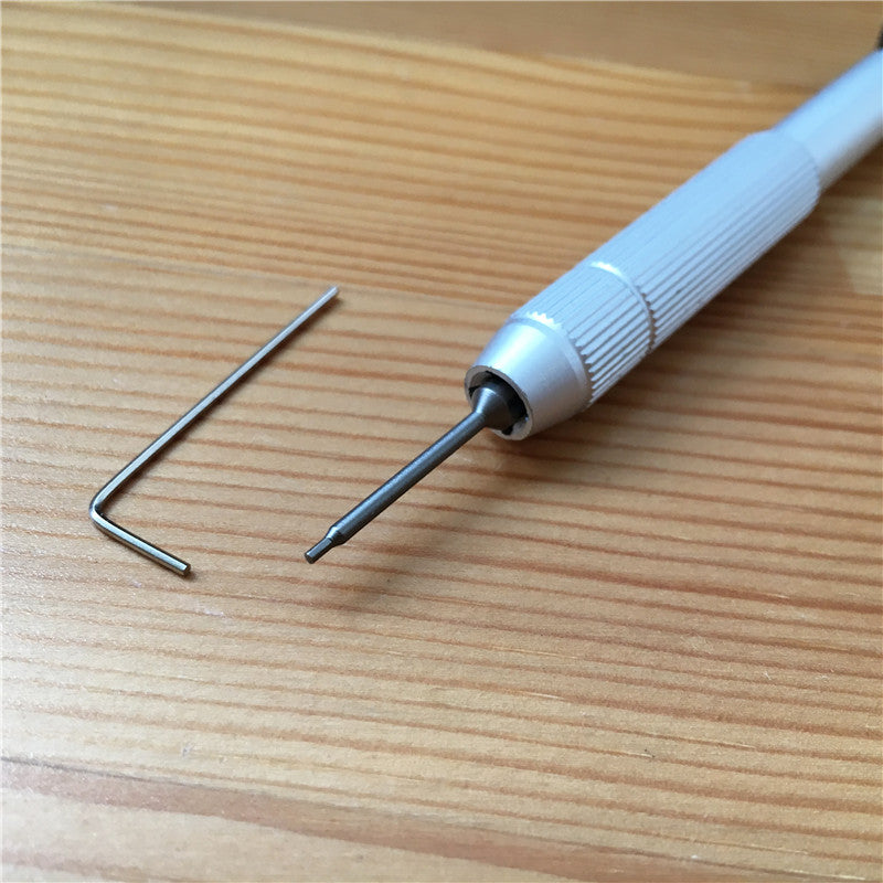0.9mm inner hexagon screwdriver for Blancpain Fifty Fathoms watch lug screw tube