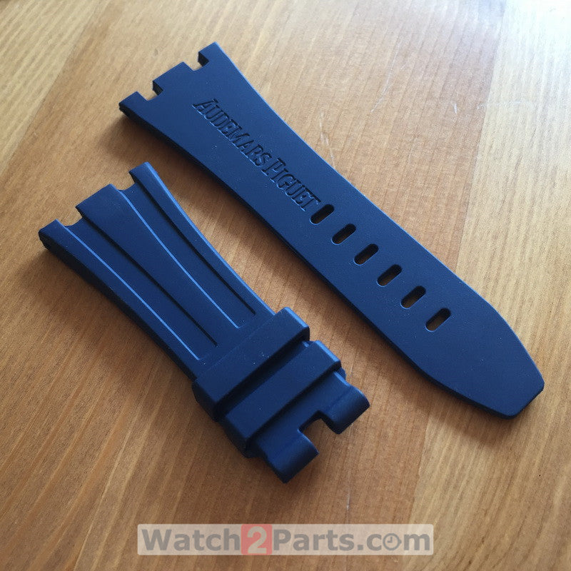 rubber watch band for AP Audemars Piguet Royal Oak Offshore 42mm 26470 automatic watch